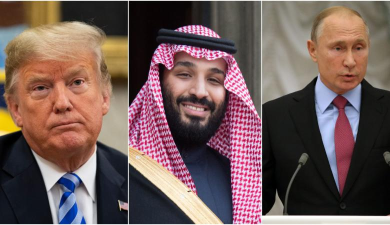 """ترمب: السعودية وروسيا أصيبتا بـ""""الجنون"""""""