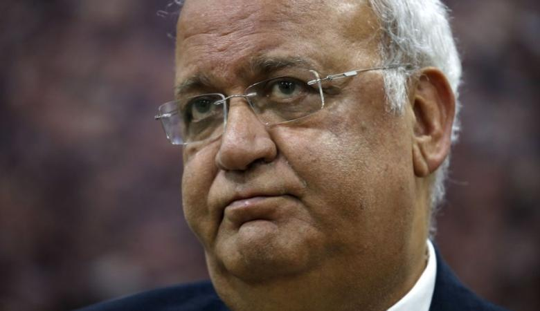 عريقات : ابو الغيط فقد مصداقيته وعليه الاستقالة فوراً