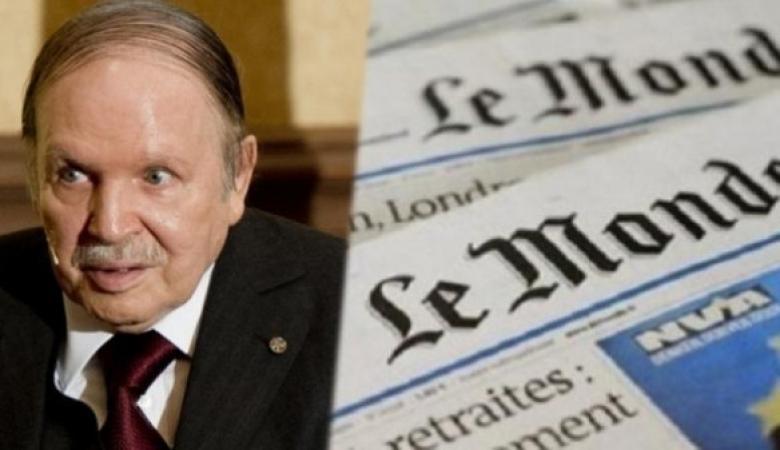 """الرئيس الجزائري يقاضي صحيفة """" لوموند """" الفرنسية لإساءتها له"""