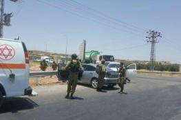 اصابة جندي بجراح متوسطة في عملية دهس جنوب بيت لحم