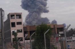 شاهد ..انفجارات ضخمة تهز العاصمة العراقية بغداد