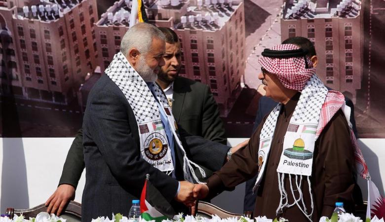 العمادي يصل قطجاع غزة لافتتاح مشاريع