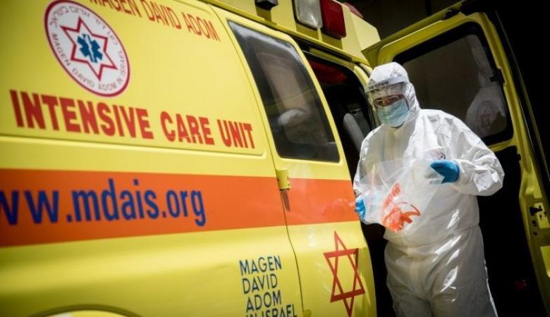 الاحتلال يعلن وفاة 7 حالات جديدة واصابة 689 بفيروس كورونا