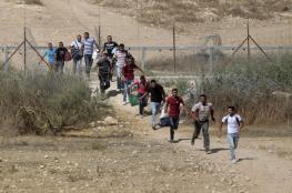 ايقاف 129 عاملاً فلسطينياً عبروا الى الاراضي المحتلة