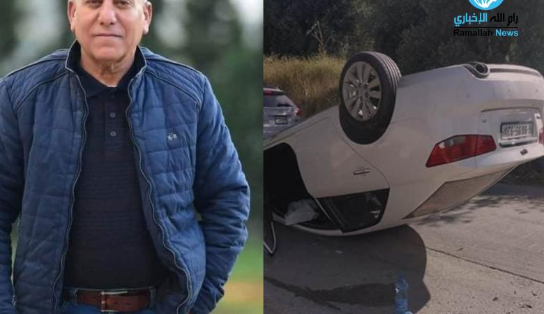 رام الله  : مصرع مواطن بحادث سير ذاتني