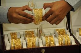 الذهب ينخفض الى ادنى مستوى في أكثر من ثلاثة أسابيع