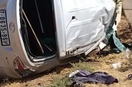 وفاة شاب بحادث انقلاب مركبة قرب أريحا