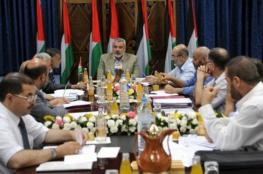 حماس تعلن حل لجنتها الادارية في غزة
