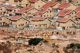 شوارع ومصانع استيطانية جديدة شمال القدس المحتلة