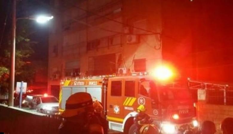 إصابات في حرائق منزلية بعكا