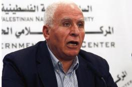 الأحمد : القيادة لم توافق على هدنة مقابل ادخال اموال الى غزة عن طريق اسرائيل