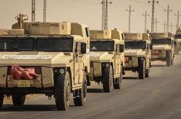 الجيش المصري: القضاء على ثلاثة تكفيريين وقصف 68 موقعًا إرهابيًا بسيناء