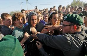 اشتباكات بين المستوطنين وقوات الاحتلال خلال إخلاء بؤرة جنوب بيت لحم