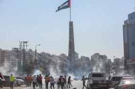 اصابات في مواجهات مع  الاحتلال شمال البيرة