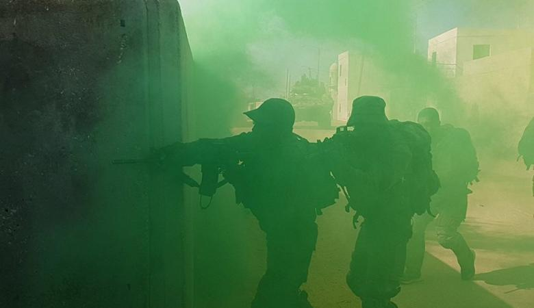 تدريبات عسكرية امريكية اسرائيلية على محاربة الأنفاق
