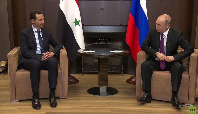 الأسد لبوتين: مستعد للتسوية السياسية في سوريا