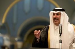 """رئيس الوزارء القطري الأسبق يكشف عن موعد إطلاع """"صفقة القرن"""""""