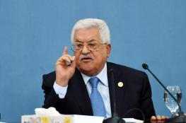 الرئيس يهدد  بالغاء كافة الاتفاقيات مع اسرائيل اذا قررت ضم أي جزء من الاراضي الفلسطينية
