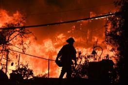 اميركا : تحذيرات من ارتفاع كبير بأعداد الوفيات جراء الحرائق