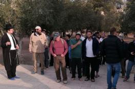 اكثر من مئة مستوطن اقتحموا  المسجد الأقصى المبارك