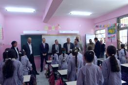 اليابان تنهي مشروع بناء غرف صفية في مدرسة بيتا جنوب نابلس