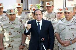 السيسي يستنفر الجيش المصري ويطالبه بالاستعداد