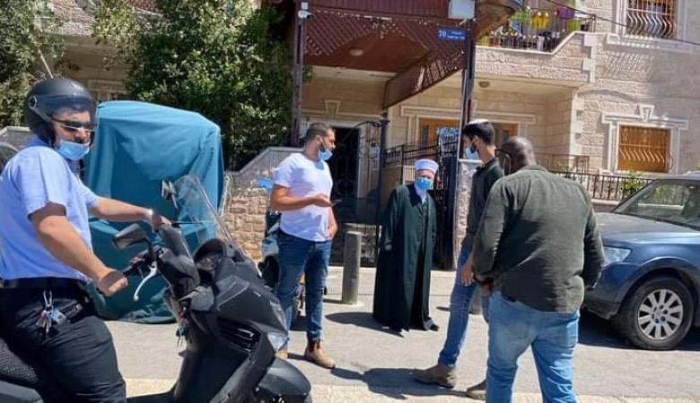 الاحتلال يعتقل الشيخ عكرمة صبري