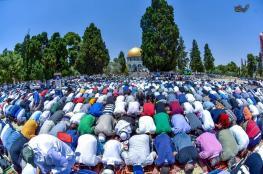 اكثر من ربع مليون ادو صلاة الجمعة الاخيرة من رمضان في الأقصى