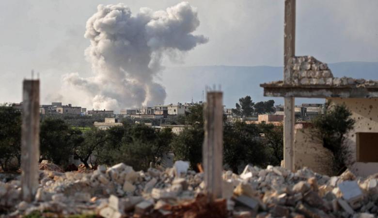 مقتل 6 مدنيين بقصف للنظام السوري على ادلب