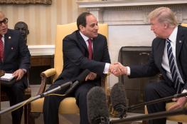 ترامب : علاقتي بالسيسي جيدة