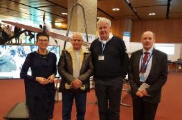 الدفاع المدني يشارك في مؤتمر أسبوع الشركات الإنسانية في مدينة جنيف السويسرية