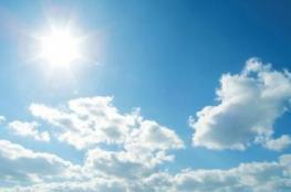 حالة الطقس : درجات الحرارة أعلى من معدلها السنوي بثلاث درجات