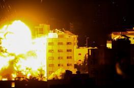 7 شهداء جراء القصف الاسرائيلي المتواصل على قطاع غزة