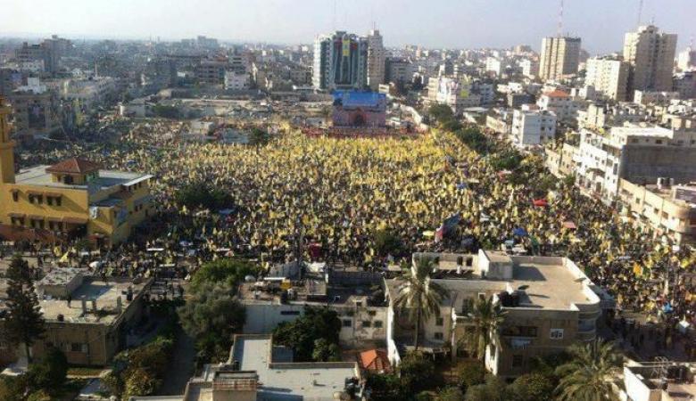"""مركزية فتح تشن هجوما على منظمي مهرجان ذكرى """"ياسر عرفات """" في غزة وتصفهم بالانقلابيين"""