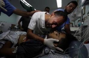 شهيدان وأكثر من 200 مصاب خلال مسيرة العودة بغزة