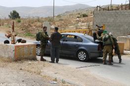 الاحتلال يغلق الطرق المؤدية الى قرى شمال  غرب رام الله