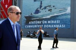 أردوغان : سنحمي سفننا في المتوسط بكل ما نمتلك من قوة
