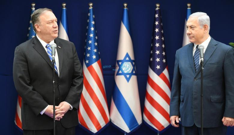 """وزير خارجية اميركا لنتنياهو : """"علاقتنا اليوم أقوى من اي وقت مضى """""""