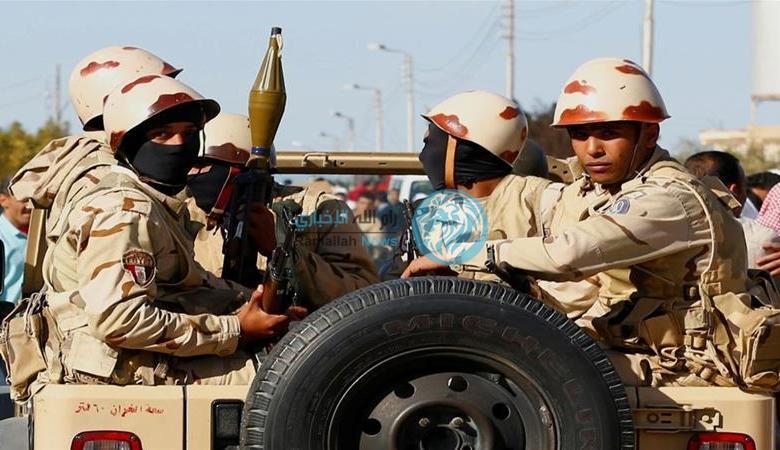 الجيش المصري يعلن مقتل 19 مسلحاً في سيناء