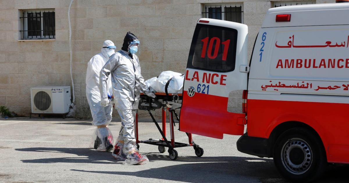 حالة وفاة و960 اصابة جديدة بفيروس كورونا في فلسطين