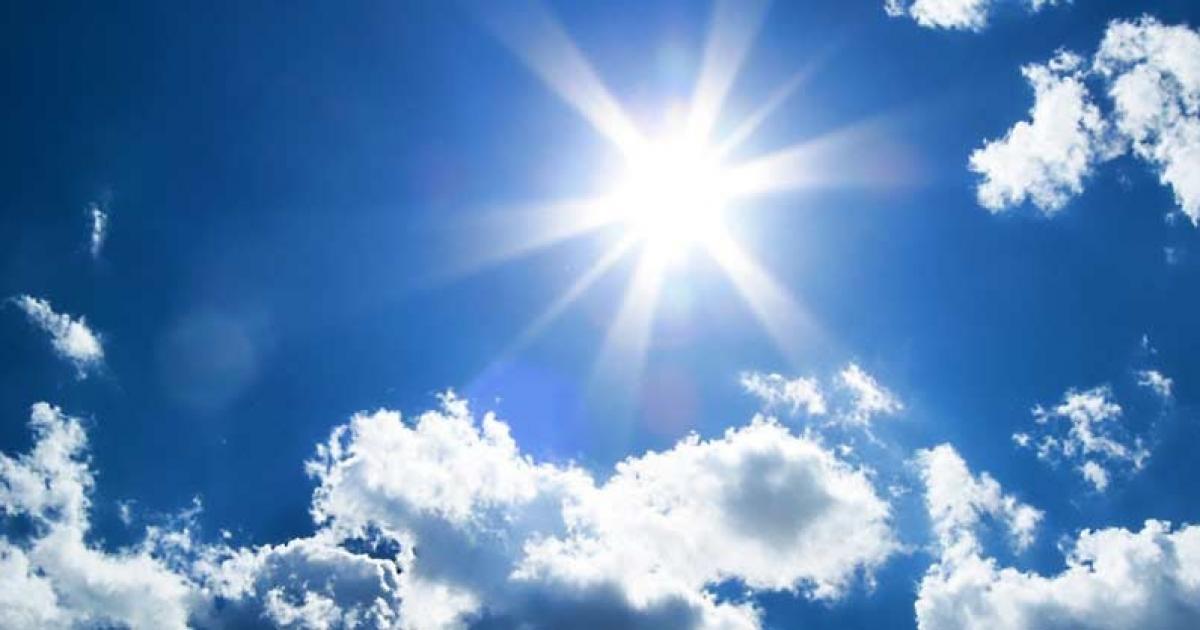 حالة الطقس: أجواء حارة نسبيا ولا تغير على درجات الحرارة