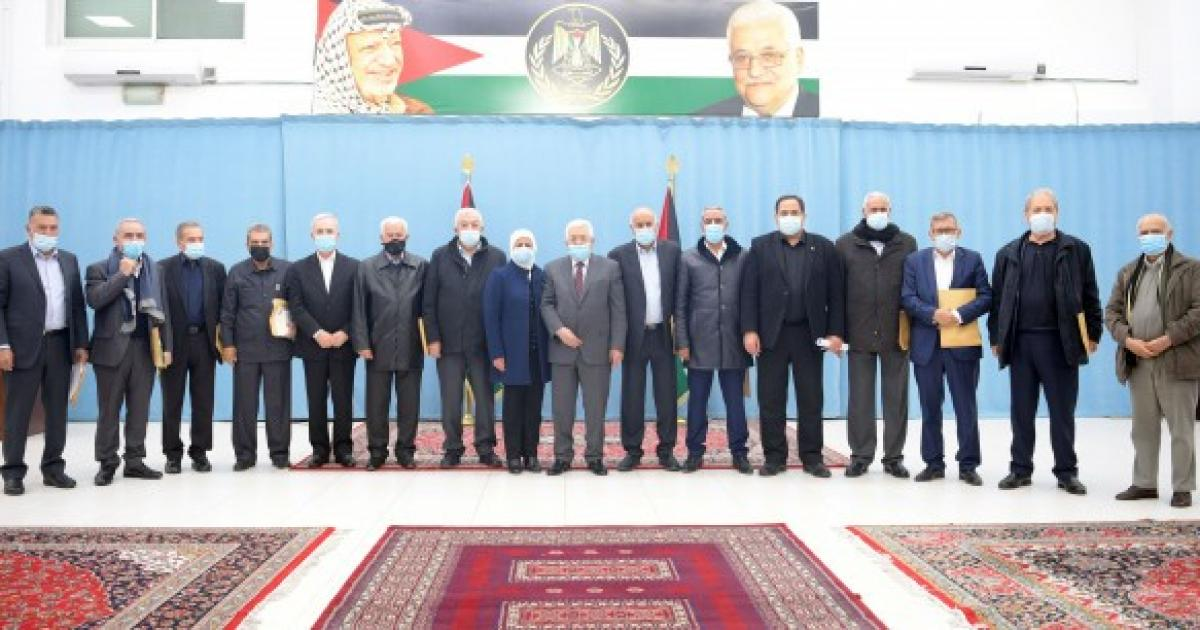 5 أعضاء من مركزية فتح متواجدين بقائمة الحركة لانتخابات التشريعي