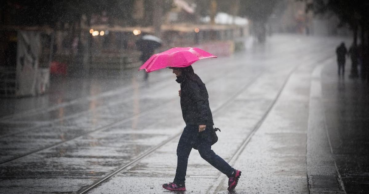 الطقس : الاجواء الماطرة تعود الى فلسطين
