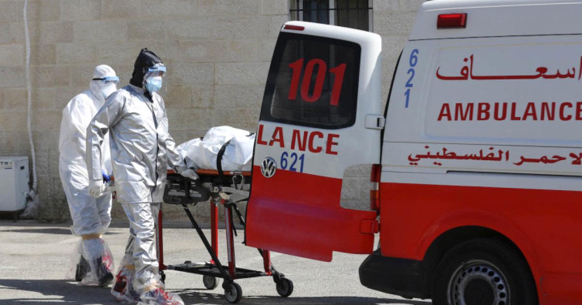 16 حالة وفاو ز1051 اصابة جديدة بفيروس كورونا في فلسطين