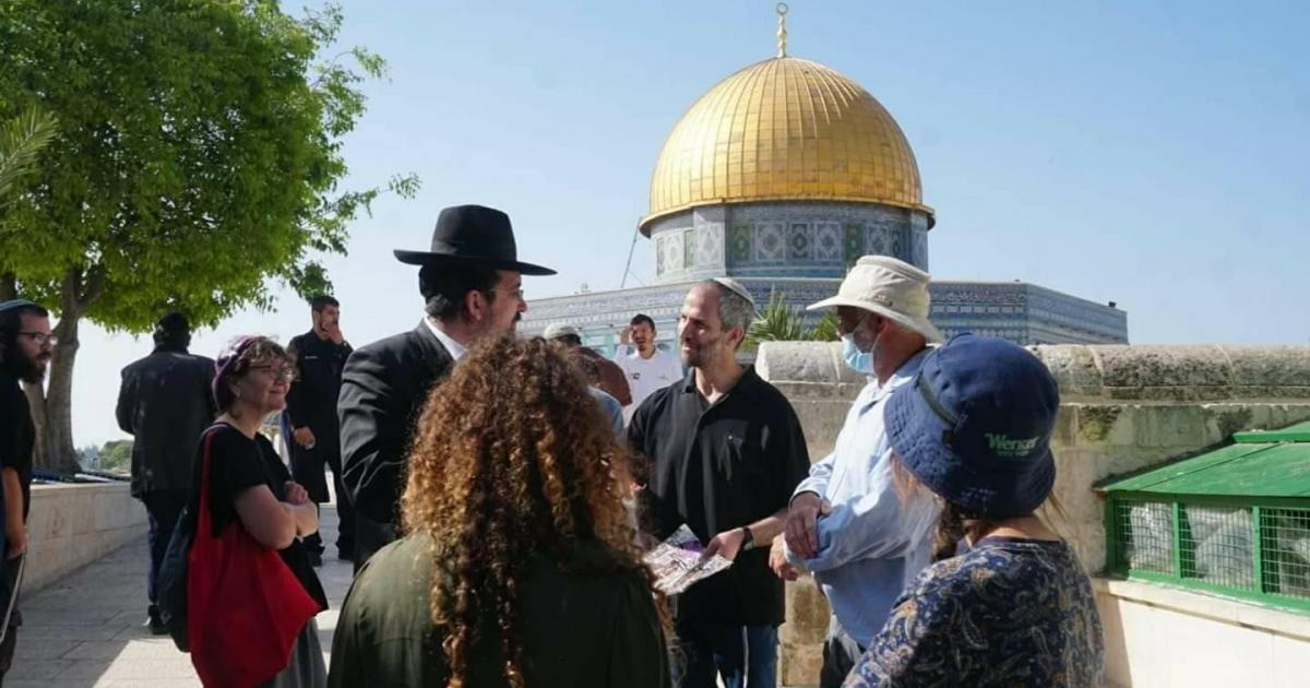 74 مستوطنا اقتحموا المسجد الاقصى المبارك