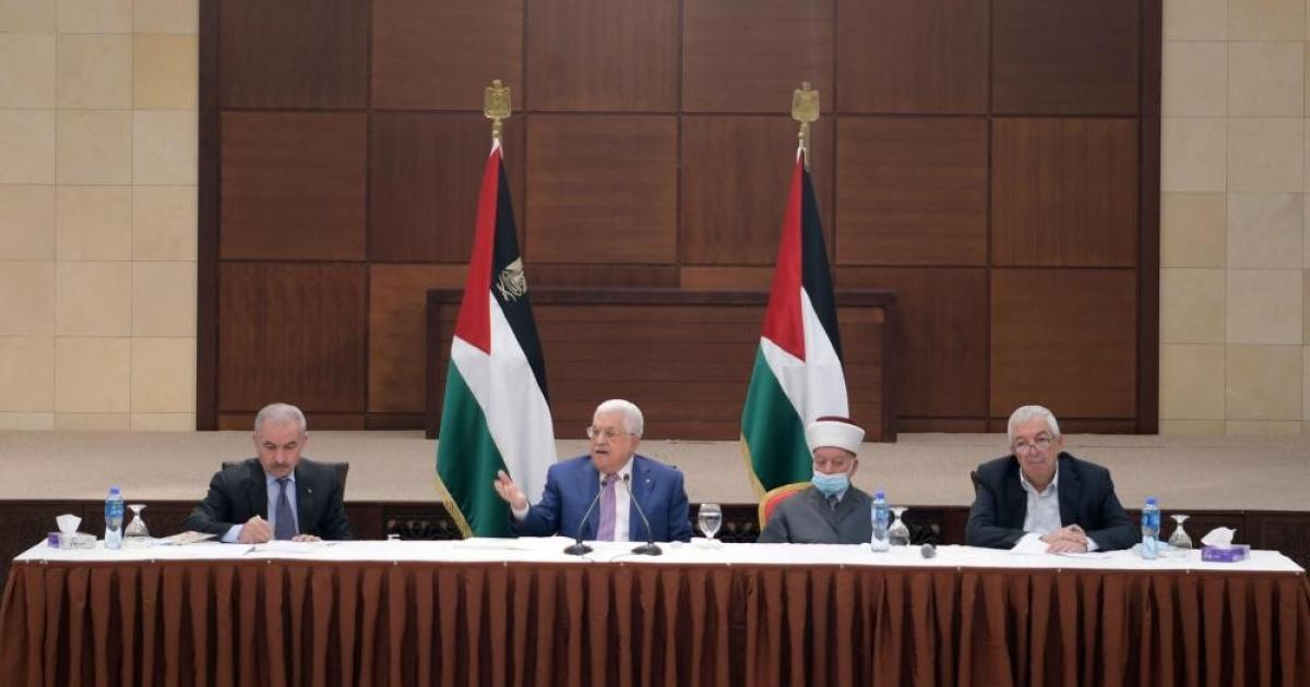 الرئيس عباس يقرر تأجيل انتخابات المجلس التشريعي