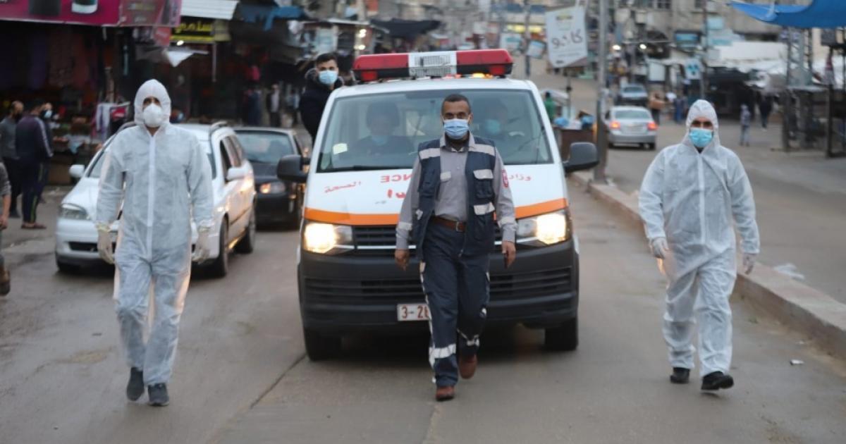 11 حالة وفاة و386 إصابة جديدة بكورونا في غزة