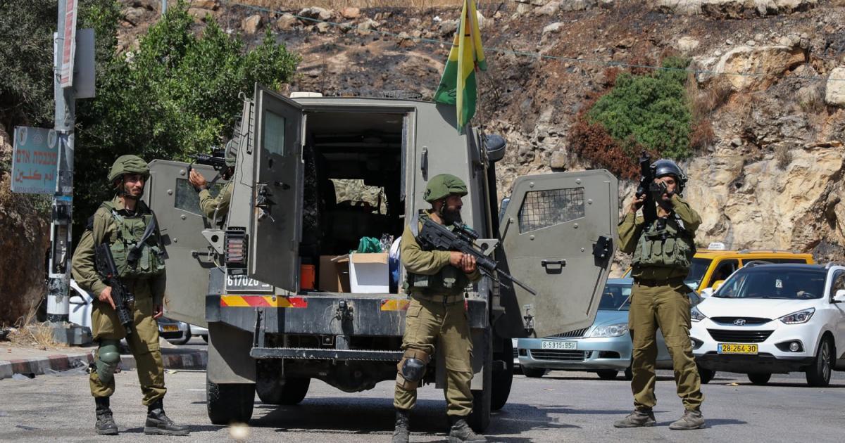 3 اصابات في مواجهات مع الاحتلال في بلدة نعلين غرب رام الله
