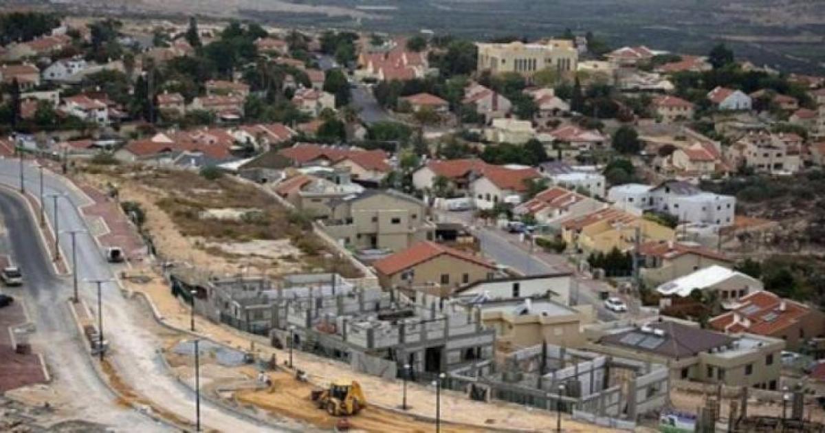 """""""الخارجية"""" تدين المشروع الاستيطاني التوسعي جنوب نابلس"""
