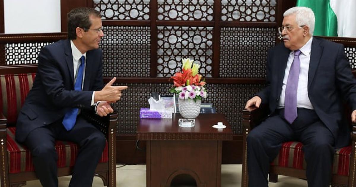تفاصيل الاتصال الهاتفي بين الرئيس عباس والرئيس الاسرائيلي